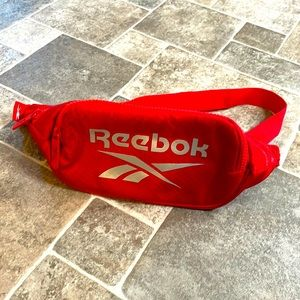 Red Reebok fanny pack